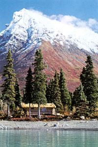 Alone in the wilderness - Dick Proenneke - lake cabin