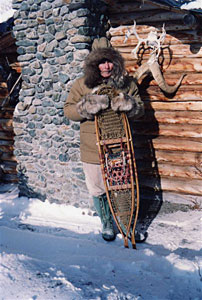 Alone in the wilderness - Dick Proenneke's snowshoes
