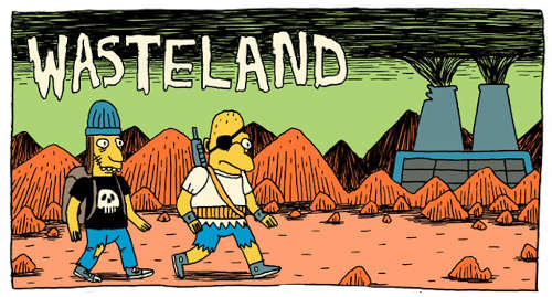 Wasteland: Simpsons' Post-Apocalyptic Webcomic By Jack Teagle