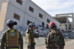 Guardian Center - Rescue at collapsed building