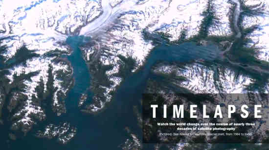 Timelapse: Humanity's Effect On Earth Over 28 Years