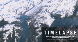 Timelapse by Google NASA USGS TIME