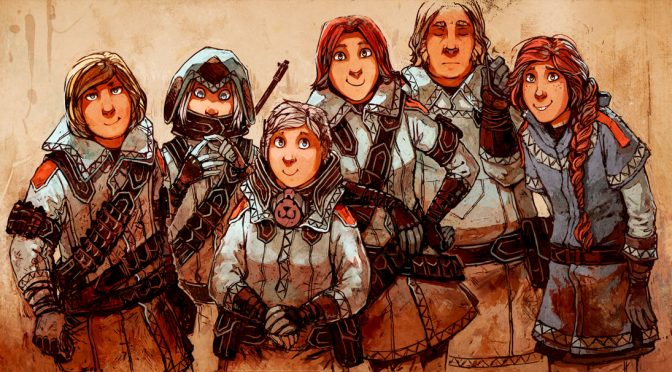 Stand Still, Stay Silent: A Post Apocalyptic Scandinavian Comic